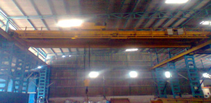 25 T CRANE COMISSIONED, UP & RUNNING