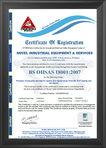 Forklift Services, EOT Cranes Service, Spares of Forklift, Services ...